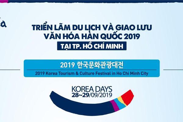Triển lãm du lịch và giao lưu văn hóa Hàn Quốc 2019 sẽ diễn ra với nhiều hoạt động hấp dẫn