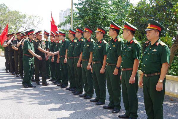 Đoàn công tác Tổng cục Hậu cần (QĐND Lào) thăm và làm việc với Bộ CHQS tỉnh