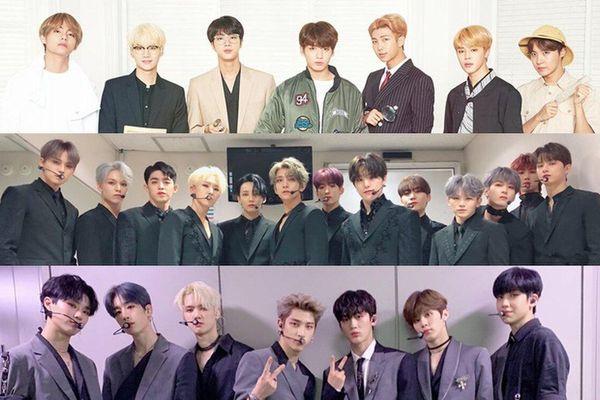 'Soán ngôi' của X1 trong 3 tuần, SEVENTEEN cùng BTS thống trị bảng xếp hạng Gaon