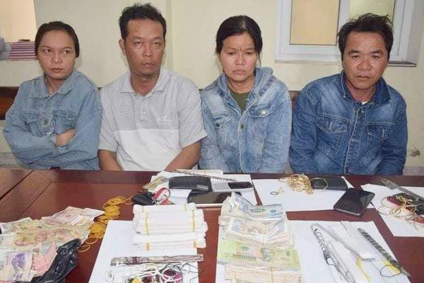Bắt nhóm đối tượng gây ra 20 vụ trộm hòm công đức tại đền, chùa