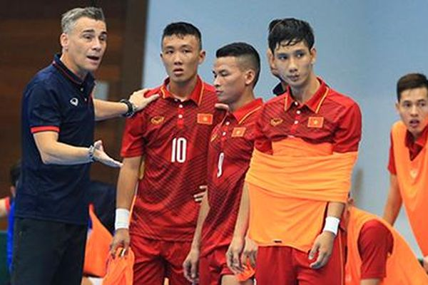 Đội tuyển Futsal Việt Nam hội quân chuẩn bị cho giải vô địch Đông Nam Á