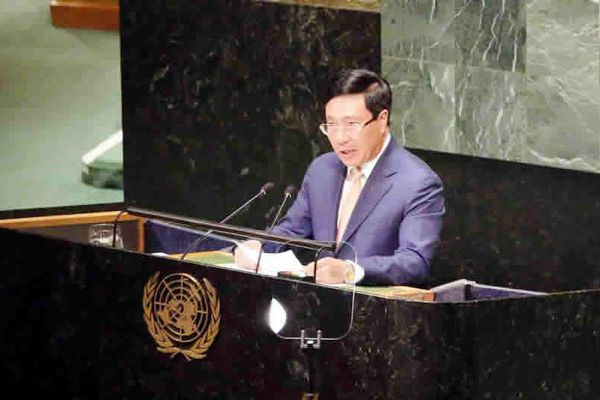 Việt Nam kêu gọi các bên liên quan ở Biển Đông tuân thủ luật pháp quốc tế