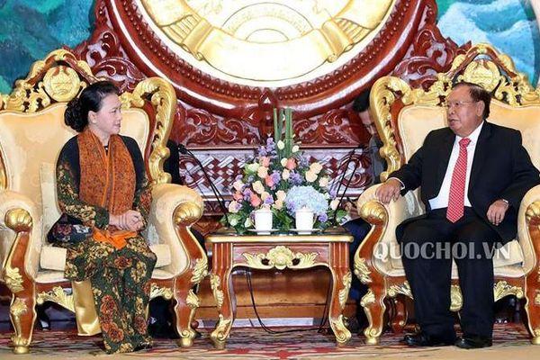 Tổng Bí thư, Chủ tịch nước Lào: Lào và Việt Nam tiếp tục kề vai, sát cánh để cùng phát triển