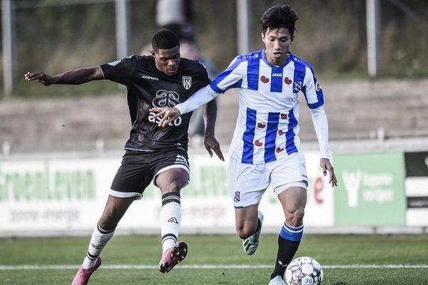 Văn Hậu đá chính, đội dự bị SC Heerenveen hòa đáng tiếc
