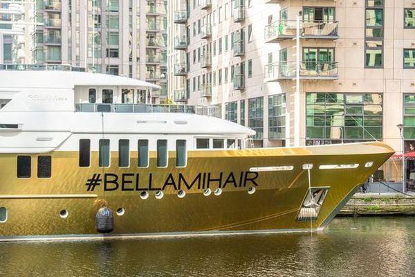 Lóa mắt siêu du thuyền bọc vàng lớn nhất thế giới, giá gần 500 tỷ