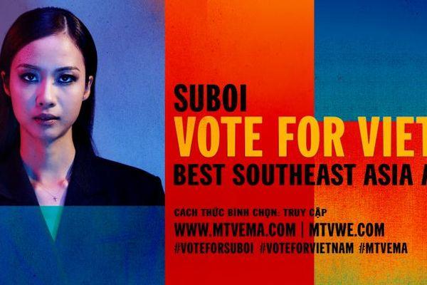 Suboi - 'Nữ hoàng nhạc Hip-Hop' đại diện Việt Nam tranh tài tại giải thưởng âm nhạc châu Âu MTV EMA 2019
