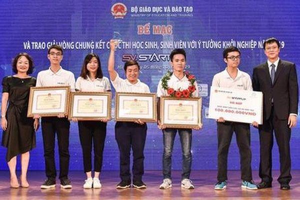 Sinh viên Bách khoa giành giải Nhất cuộc thi SV-Startup 2019
