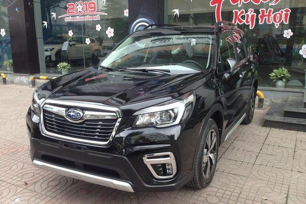 Xe tiền tỷ Subaru Forester tại Việt Nam bị triệu hồi