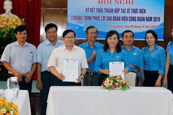 Quảng Nam: Đoàn viên hưởng lợi từ các chương trình phúc lợi