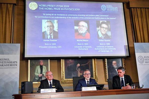 Nobel Vật lý 2019 tôn vinh hai nghiên cứu về vũ trụ