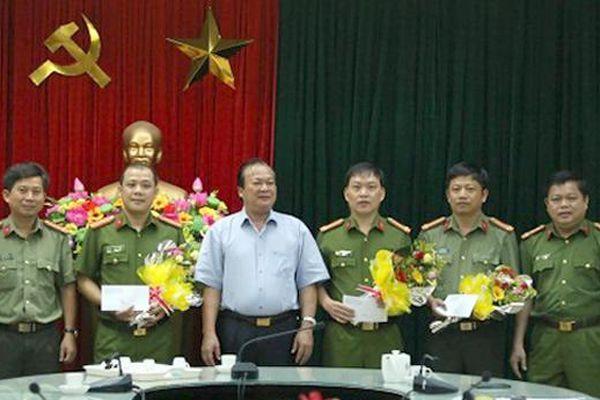 Khen thưởng thành tích phòng chống tội phạm