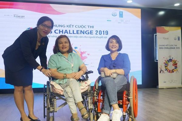 9 giải pháp vào chung kết cuộc thi khởi nghiệp cho người khuyết tật