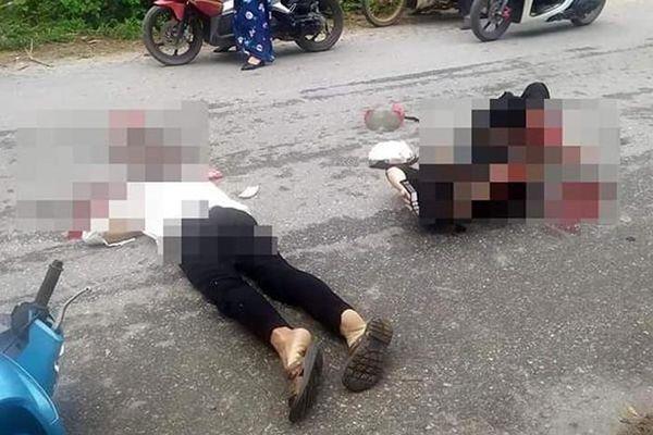 Tông vào chó chạy rông, 2 vợ chồng bị xe tải cán thương vong