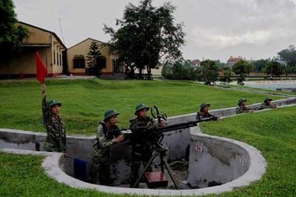 Ngày mưa ở Trung đoàn Sông Lô Quyết thắng