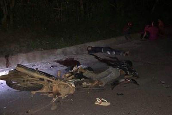 Tai nạn kinh hoàng, 4 thiếu niên tử nạn
