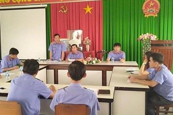 Thực hiện kiểm tra chéo ở các VKSND cấp huyện