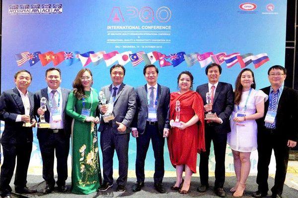 Tân Á Đại Thành được vinh danh tại Lễ trao giải chất lượng châu Á - Thái Bình Dương