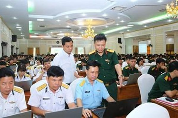 Cục Tài chính (Bộ Quốc phòng) tập huấn sử dụng phần mềm kế toán đơn vị dự toán, sự nghiệp
