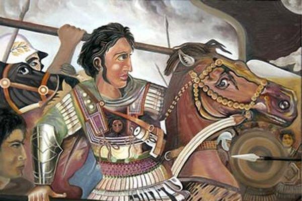 Vị vua 25 tuổi đánh bại 100.000 quân Ba Tư