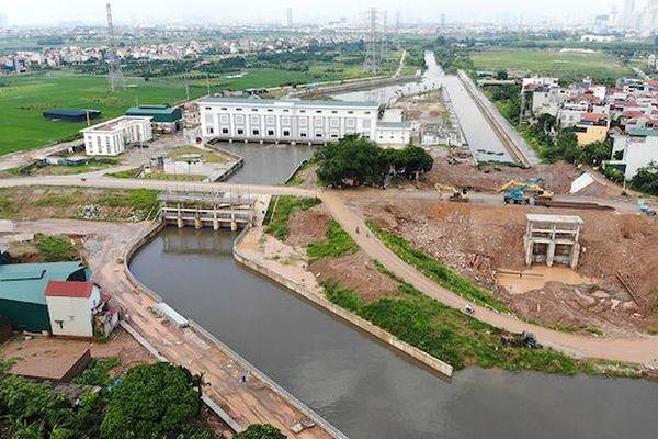 Hà Đông đã giải phóng mặt bằng 52% dự án Trạm bơm tiêu Yên Nghĩa