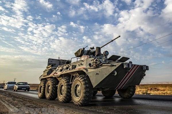 Quân cảnh Nga tuần tra dọc 3 tuyến đường gần biên giới Thổ Nhĩ Kỳ