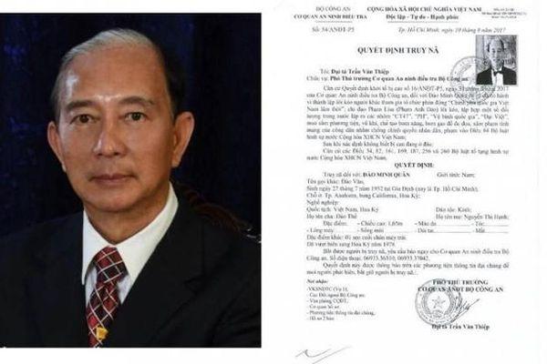 Những kẻ cầm đầu tổ chức khủng bố gây nổ ở Cục Thuế tỉnh Bình Dương là ai?