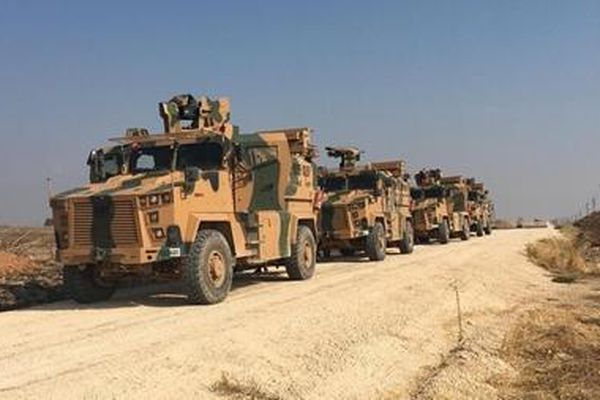 Thổ Nhĩ Kỳ và Nga bắt đầu tuần tra chung tại Syria
