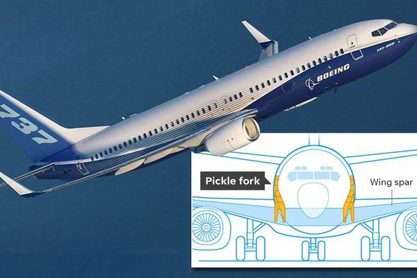 Boeing tiếp tục vướng bê bối vì lỗi nứt cánh