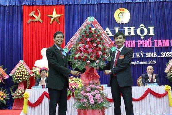 Quảng Nam: Cho thôi chức Bí thư Thành ủy Tam Kỳ với ông Nguyễn Văn Lúa