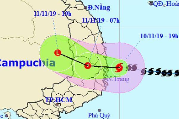 Toàn tỉnh Khánh Hòa đã di dời 1.244 hộ dân ở các khu vực xung yếu