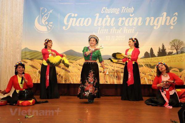 Đặc sắc chương tình giao lưu nghệ thuật truyền thống Việt Nam tại Đức