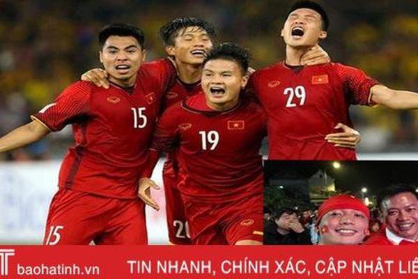 Người hâm mộ Hà Tĩnh tin đội tuyển Việt Nam thắng UAE trong trận đấu tối nay