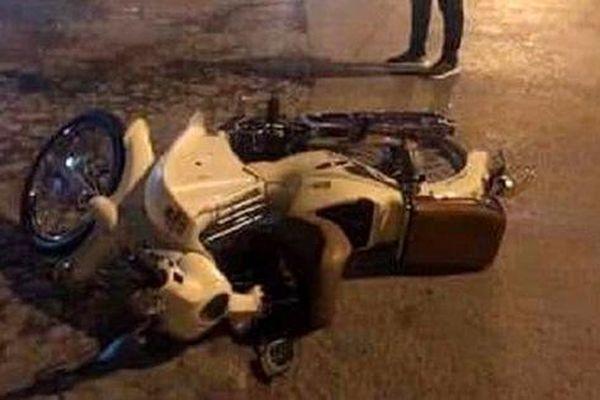 Gây tai nạn giao thông khiến thai phụ tử vong, cán bộ công an rời khỏi hiện trường