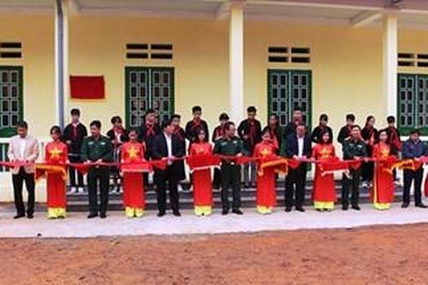 Khánh thành, bàn giao công trình Nhà bán trú học sinh Trường phổ thông dân tộc THCS Yên Hoa