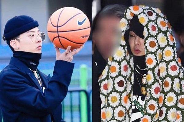 G-Dragon trùm chăn hoa cúc dự sự kiện sau khi xuất ngũ