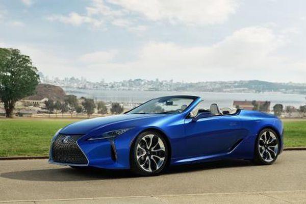 Phiên bản thể thao mui trần Coupe Lexus LC 500 sẽ được bán từ hè 2020
