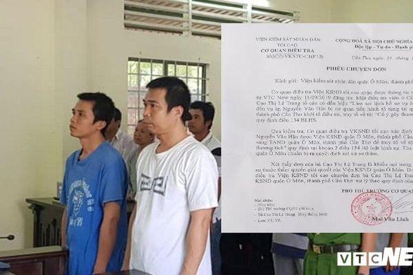 Điều tra viên bị tố làm sai lệch hồ sơ vụ án ở Cần Thơ: Cơ quan điều tra VKSND tối cao lên tiếng