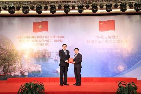Hội nghị Viện kiểm sát nhân dân các tỉnh biên giới Việt - Trung lần thứ 2
