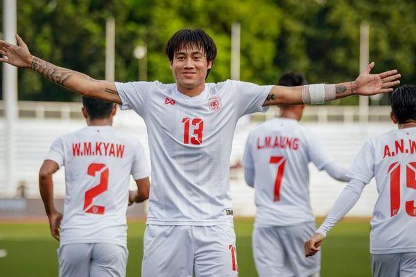U22 Myanmar rộng cửa vào bán kết SEA Games 30