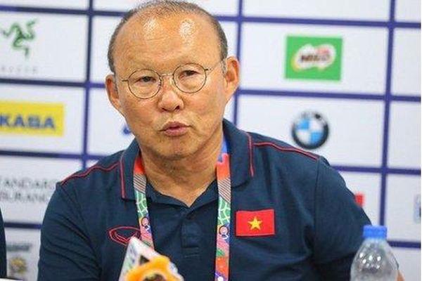 HLV Park Hang-seo: 'Sẽ sử dụng 11 cầu thủ tốt nhất đấu Indonesia'
