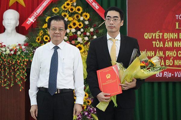Bổ nhiệm ông Bùi Thái Hùng giữ chức vụ Phó Chánh án TAND tỉnh