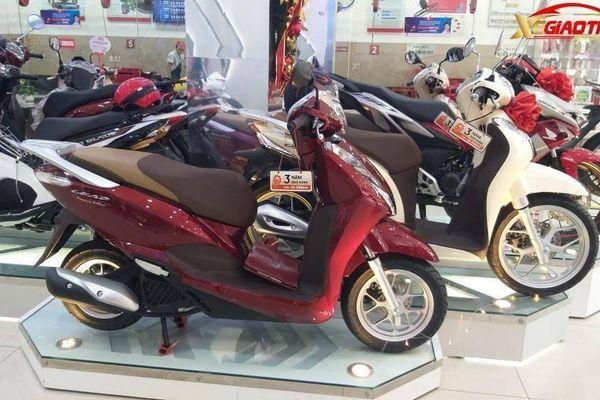 Bảng giá các mẫu xe máy Honda mới nhất