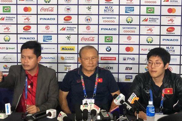 Thầy Park: 'U-22 Việt Nam hãy quên trận thắng này đi...'