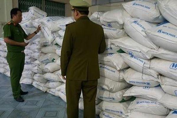 Nhập lậu hơn 5 tấn đường cát bị chặn đứng tại Phú Yên