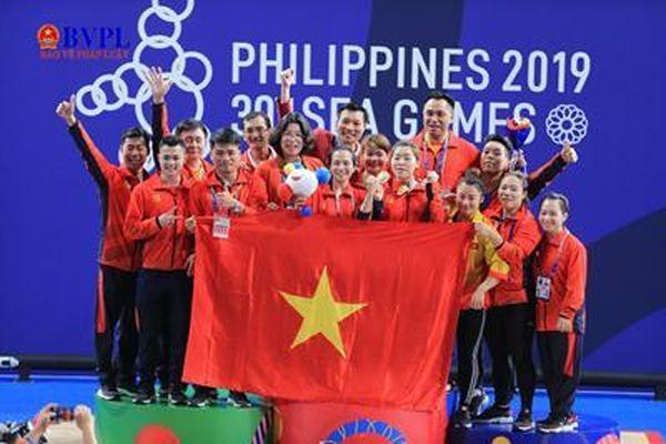 Việt Nam giành 74 huy chương, 23 HCV tại Seagame 30
