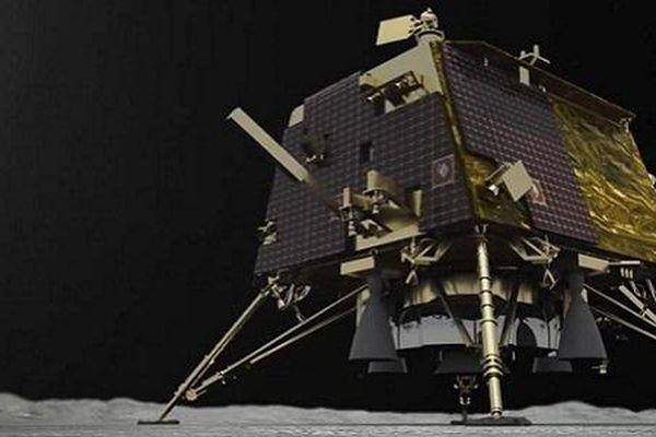 Vết tích tàu đổ bộ Ấn Độ để lại sau cú hạ cánh thất bại trên Mặt trăng