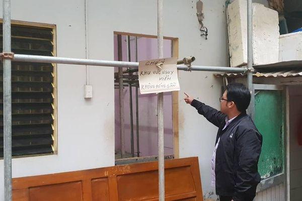 Cầu Giấy – Hà Nội: Xây nhà gây nứt tường nhà hàng xóm, chính quyền 'ngó lơ'