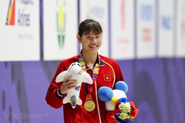 Việt Nam nhận 'mưa' Huy chương Vàng; Ánh Viên giành Huy chương vàng thứ 6