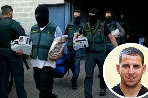 Cựu sao Malaga bị bắt vì buôn ma túy