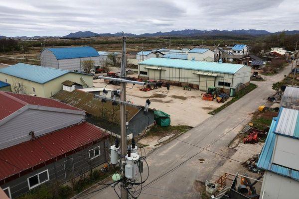 Làng Tự Do - nơi kẹt giữa 'họng súng' hai miền bán đảo Triều Tiên
